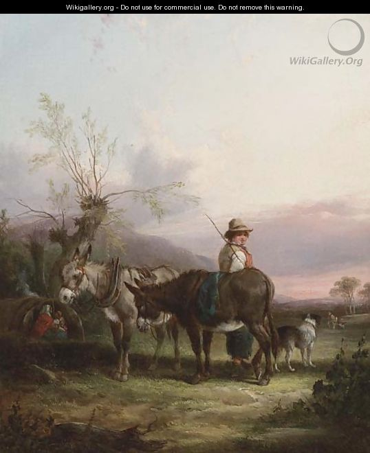 The gypsy encampment 2 - William Joseph Shayer