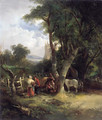 The Gypsy Encampment - William Joseph Shayer