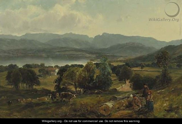 Lake Windermere - William M. Hart