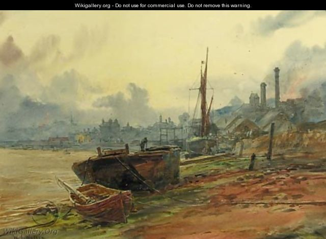 Upnor on the Medway - William Lionel Wyllie