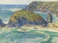 Asparagus Island, Kynance, Cornwall - William Holman Hunt
