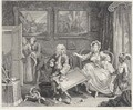 A Harlot's Progress (P. 121-126) - William Hogarth