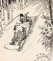 Toboggan Ride - William Glackens