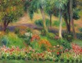 Garden with Birdbath - William Glackens