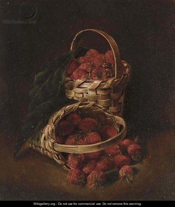 Basket of Strawberries - William Jacob Hays