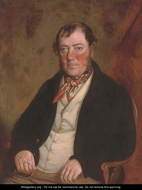 Portrait of Mr W. Griffith - William J. Pringle