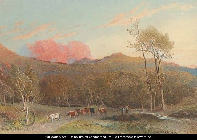 The pink cloud - William Hull