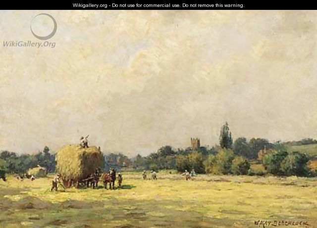 Haymaking - William Kay Blacklock