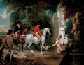 The Duke of Hamilton's Return from Coursing - William Hamilton