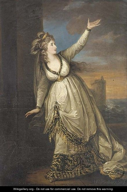 Portrait of Mrs Siddons in the character of Euphrasia in the Grecian Daughter - William Hamilton