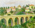 Viaduct at Vence - William Glackens