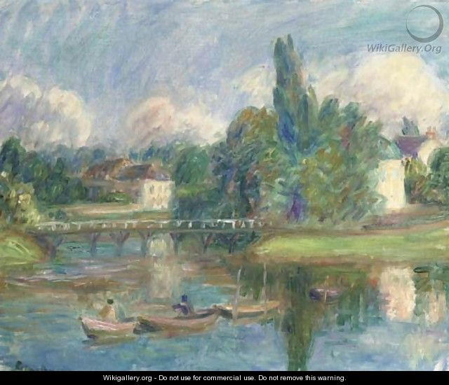 French Landscape - William Glackens