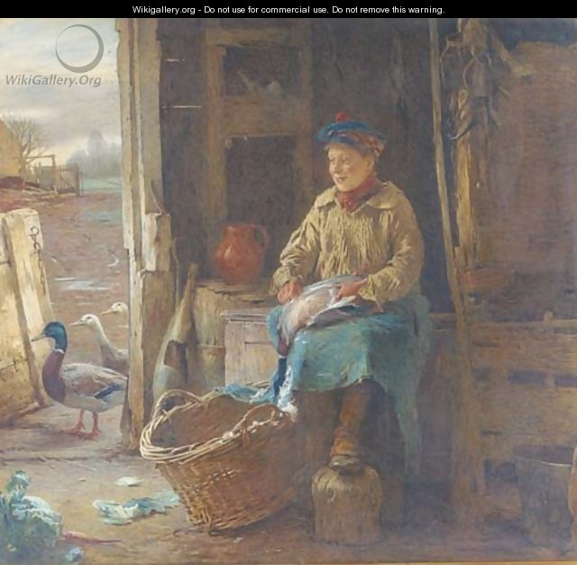 Asking for trouble - William Henry Hunt