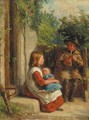 The young piper - William Hemsley