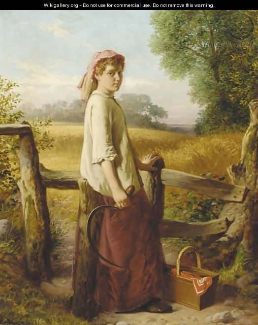 The gleaner - William Henry Midwood