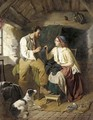 Courting the seamstress - William Henry Midwood