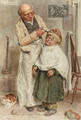 The barber - William Henry Hunt