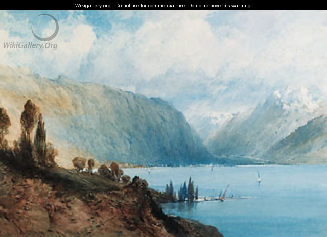 Lake Geneva, Switzerland - William Callow