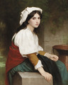 Italienne a la fontaine - William-Adolphe Bouguereau