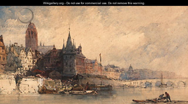 View of Frankfurt - William Callow