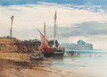 Boulogne at low tide, France - William Callow