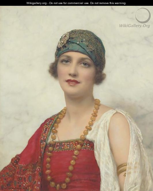The Turban - William Clarke Wontner