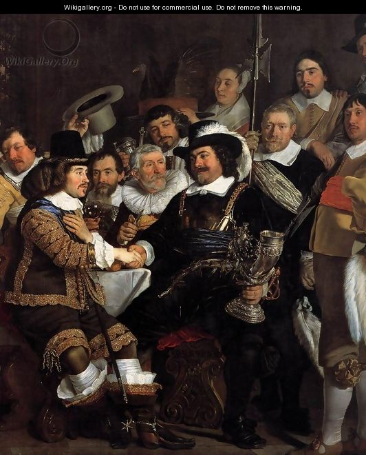 Celebration of the Peace of Mnster, 1648, at the Crossbowmen
