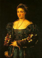 Portrait of a Woman (La Bella) - Tiziano Vecellio (Titian)