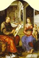 St Luke Painting The Virgin 1545-50 - Lili Orszag