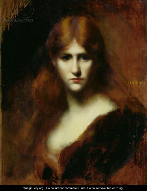 Portrait of a Woman 2 - Jean-Jacques Henner
