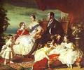 The Family Of Queen Victoria 1846 - Franz Xavier Winterhalter