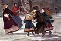 Skating in Winter - Winslow Homer