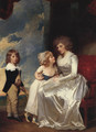 The Countess of Warwick and Her Child 1787-1789 - George Romney
