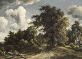 Woodland Road probably ca 1670 - Meindert Hobbema