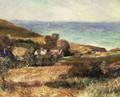 View of the Seacoast near Wargemont in Normandy 1880 - Pierre Auguste Renoir