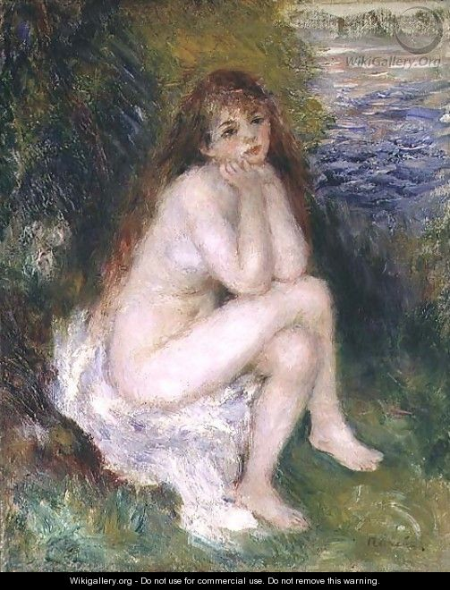 The Naiad 1876 - Pierre Auguste Renoir