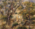 The Farm at Les Collettes Cagnes - Pierre Auguste Renoir