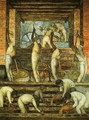 Political Vision of the Mexican People The Sugar Mill (El trapiche) 1923 Fresco Ground floor north wall Ministry of Public Education Mexico City - Diego Rivera