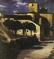 Night Scene in Avila 1907 - Diego Rivera