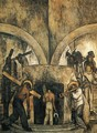 Entry into the Mine (Entrada a la mina) 1923 - Diego Rivera