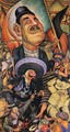 Carnival of Mexican Life Dictatorship 1936 - Diego Rivera