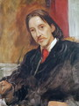 Portrait of Robert Louis Stevenson - Sir William Blake Richmond