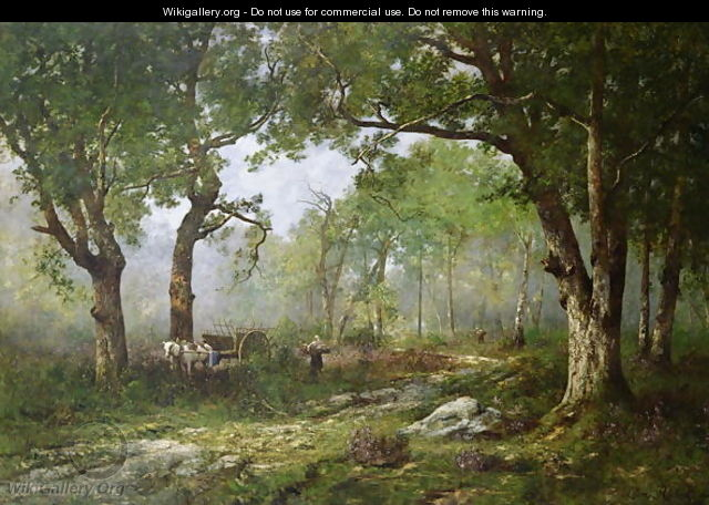 The Forest of Fontainebleau 1890 - Leon Richet