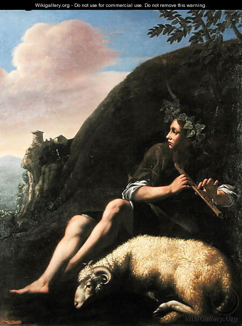 Pastoral Shepherd and Sheep - Jusepe de Ribera