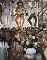 The Day of the Dead(Dark Version) 1924 - Diego Rivera