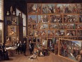 The Art Collection of Archduke Leopold Wilhelm in Brussels 1651 - David The Younger Teniers
