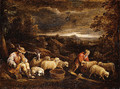 Shepherds and Sheep - David The Younger Teniers