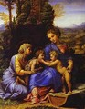 The Holy Family Known As Little Holy Family - Raphael