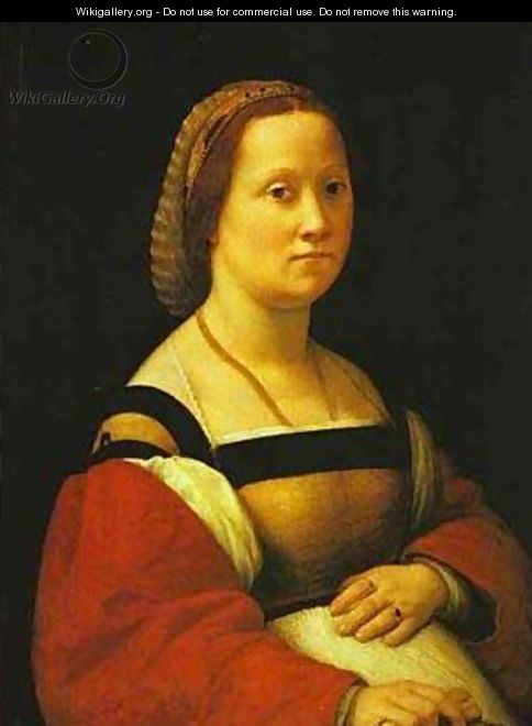Portrait Of A Pregnant Woman 1506 - Raphael