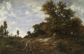 The Edge of the Woods at Monts Girard 1854 - Allan Ramsay